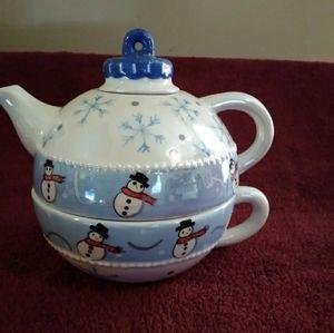 Bella Casa by Ganz tea for one